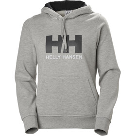 Helly Hansen HH Logo Hoodie Dame grey melange